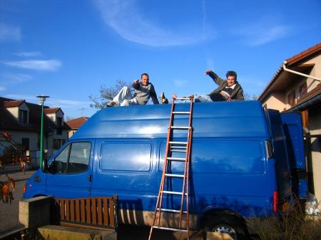 Confection camionnette - Van making